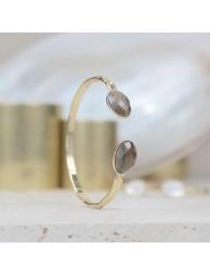 Bracelet Calibre Naturo Sterling Silver 925 Oxidized